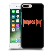 Official Justin Bieber Tour Merchandise Logo Hard Back Case For Apple Iphone 7 Plus