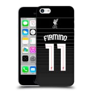 Official Liverpool Football Club Shirt New Away Shirt Black Firmino Hard Back Case For Apple Iphone 5C