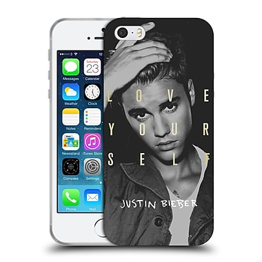 Official Justin Bieber Purpose B&W Love Yourself Soft Gel Case For Apple Iphone 5 / 5S / Se