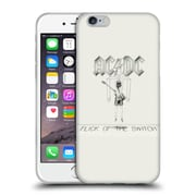 Official Ac/Dc Acdc Album Cover Flick Of The Switch Soft Gel Case For Apple Iphone 6 / 6S