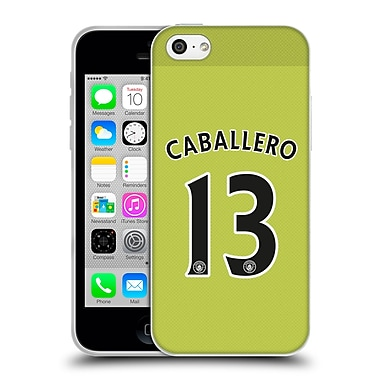 Official Manchester City Man City Fc Away Kit 2016/17 1 Caballero Soft Gel Case For Apple Iphone 5C
