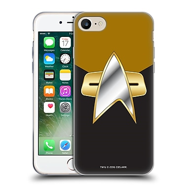 Official Star Trek Uniforms And Badges Ds9 Operations Soft Gel Case For Apple Iphone 7