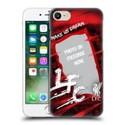 Custom Customised Personalised Liverpool Fc Make Us Dream Banner Hard Back Case For Apple Iphone 7