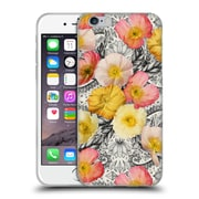 Official Micklyn Le Feuvre Florals 2 Collage Of Poppies And Pattern Soft Gel Case For Apple Iphone 6 / 6S