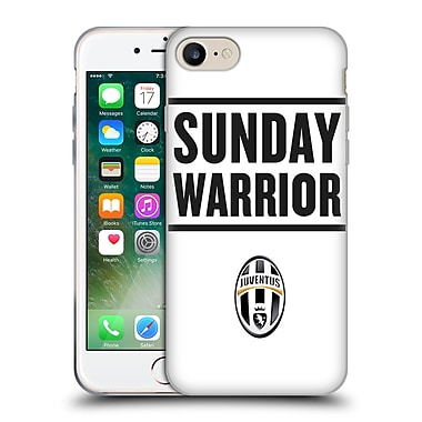 Official Juventus Football Club Lifestyle Sunday Warrior Soft Gel Case For Apple Iphone 7