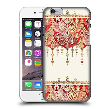 Official Micklyn Le Feuvre Modern Deco Royal Red Art Hard Back Case For Apple Iphone 6 / 6S