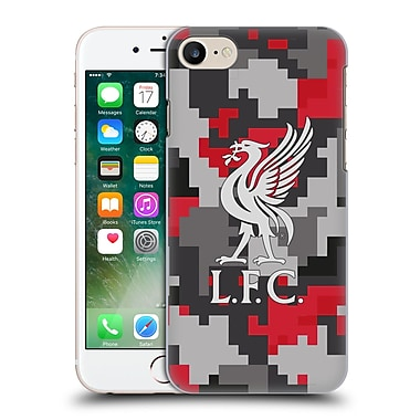 Official Liverpool Football Club Digital Camouflage Club Colours Hard Back Case For Apple Iphone 7