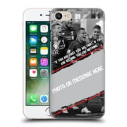 Custom Customised Personalised Liverpool Fc Goal Hard Back Case For Apple Iphone 7