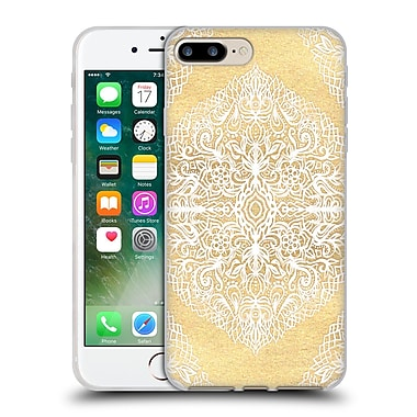 Official Micklyn Le Feuvre Floral Patterns White Gouache Soft Gel Case For Apple Iphone 7 Plus
