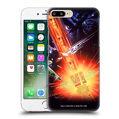 Official Star Trek Movie Posters Tos The Undiscovered Country Hard Back Case For Apple Iphone 7 Plus