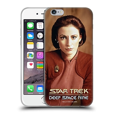 Official Star Trek Iconic Characters Ds9 Kira Nerys Soft Gel Case For Apple Iphone 6 / 6S