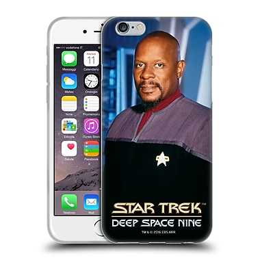Official Star Trek Iconic Characters Ds9 Benjamin Sisko Soft Gel Case For Apple Iphone 6 / 6S