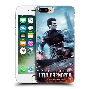 Official Star Trek Posters Into Darkness Xii Khan Hard Back Case For Apple Iphone 7 Plus