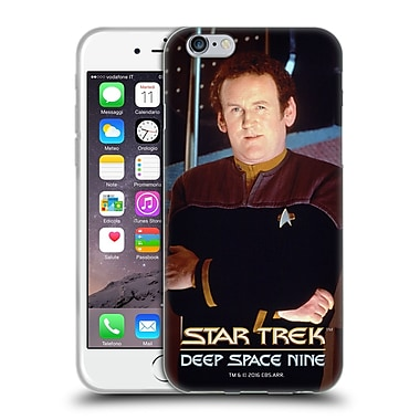Official Star Trek Iconic Characters Ds9 Miles O'Brien Soft Gel Case For Apple Iphone 6 / 6S