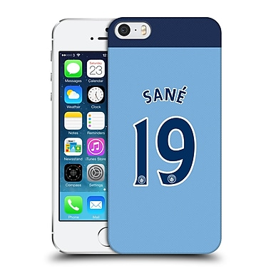 Official Manchester City Man City Fc Player Home Kit 2016/17 Group 2 Sana%Hard Back Case For Apple Iphone 5 / 5S / Se