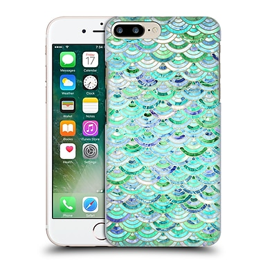 Official Micklyn Le Feuvre Marble Patterns Mosaic In Mint Quartz And Jade Hard Back Case For Apple Iphone 7 Plus