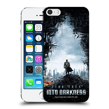 Official Star Trek Posters Into Darkness Xii Khan City Ruins Hard Back Case For Apple Iphone 5 / 5S / Se