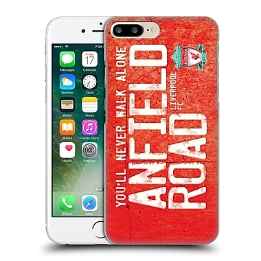 Official Liverpool Football Club Crest Never Walk Alone Anfield Road Red Hard Back Case For Apple Iphone 7 Plus