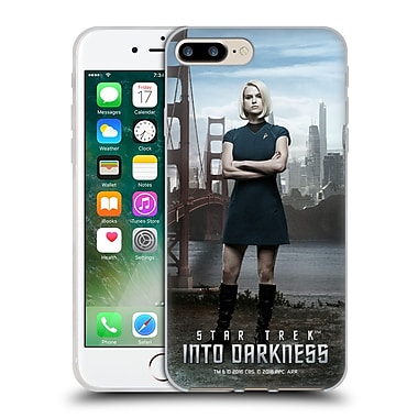 Official Star Trek Characters Into Darkness Xii Alice Soft Gel Case For Apple Iphone 7 Plus
