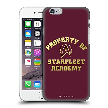 Official Star Trek Starfleet Academy Logos Property Hard Back Case For Apple Iphone 6 / 6S