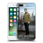 Official Star Trek Characters Into Darkness Xii Captain Kirk Soft Gel Case For Apple Iphone 7 Plus
