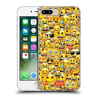 Official Emoji Full Patterns Smileys Soft Gel Case For Apple Iphone 7 Plus