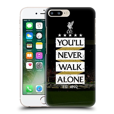Official Liverpool Football Club Never Walk Alone Kop 7 Hard Back Case For Apple Iphone 7 Plus
