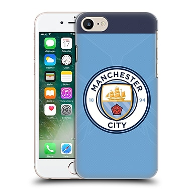 Official Manchester City Man City Fc Badge Kit 2016/17 Home Hard Back Case For Apple Iphone 7