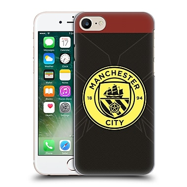 Official Manchester City Man City Fc Badge Kit 2016/17 Away Hard Back Case For Apple Iphone 7