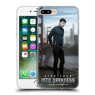 Official Star Trek Characters Into Darkness Xii Spock Soft Gel Case For Apple Iphone 7 Plus