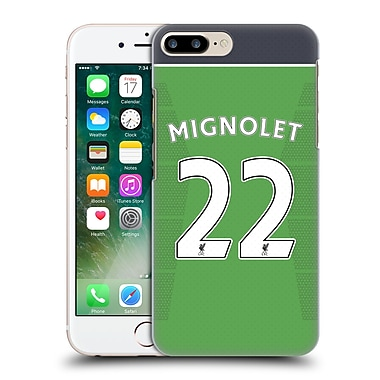 Official Liverpool Football Club Players Home Kit 16/17 Group 1 Mignolet Hard Back Case For Apple Iphone 7 Plus