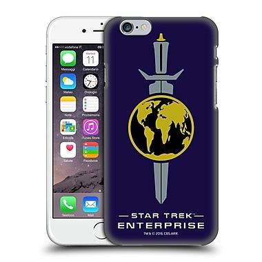 Official Star Trek Mirror Universe Badges Ent Terran Empire Hard Back Case For Apple Iphone 6 / 6S