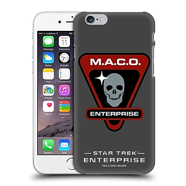 Official Star Trek Mirror Universe Badges Ent Maco Hard Back Case For Apple Iphone 6 / 6S