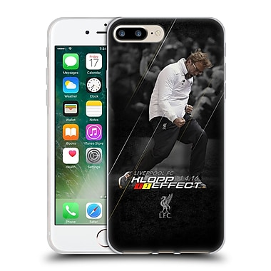 Official Liverpool Football Club Anfield Magic Klopp Effect Soft Gel Case For Apple Iphone 7 Plus