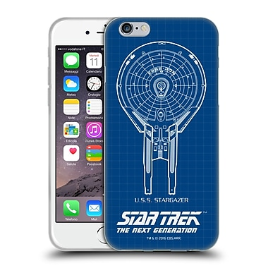 Official Star Trek Ships Of The Line Tng Uss Stargazer Soft Gel Case For Apple Iphone 6 / 6S