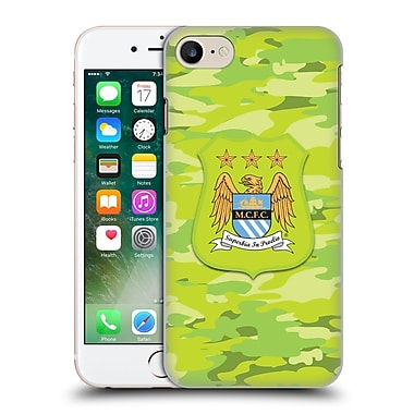 Official Manchester City Man City Fc Camou Third Colorways Hard Back Case For Apple Iphone 7