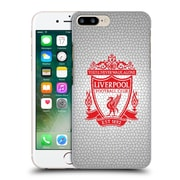 Official Liverpool Football Club Crest 2 White Pixel 2 Hard Back Case For Apple Iphone 7 Plus