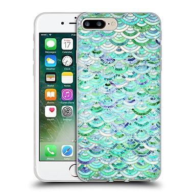 Official Micklyn Le Feuvre Marble Patterns Mosaic In Mint Quartz And Jade Soft Gel Case For Apple Iphone 7 Plus