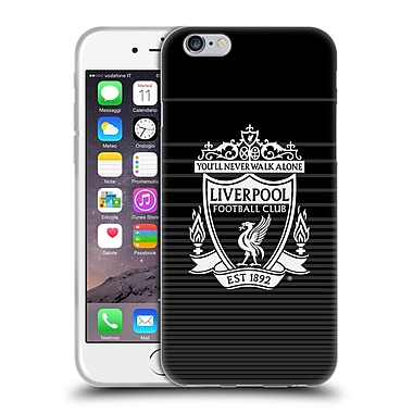Official Liverpool Football Club Crest Designs White Third Soft Gel Case For Apple Iphone 6 / 6S