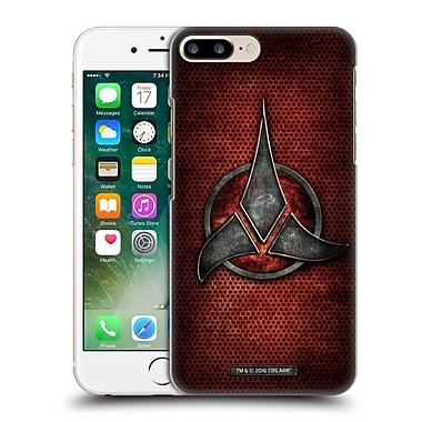 Official Star Trek Klingon Badges Empire Hard Back Case For Apple Iphone 7 Plus