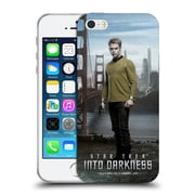 Official Star Trek Characters Into Darkness Xii Captain Kirk Soft Gel Case For Apple Iphone 5 / 5S / Se