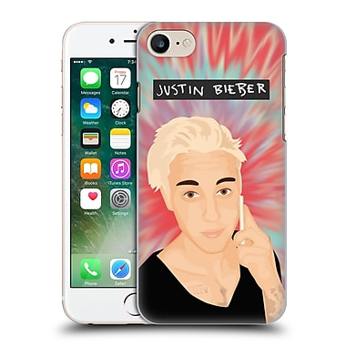 Official Justin Bieber Justmojis Tie Dye Hard Back Case For Apple Iphone 7