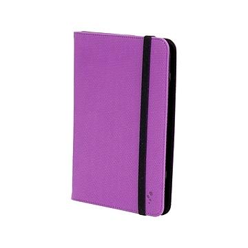 "M-Edge U7-FP-MF-PB Folio Plus Faux Leather Case for 7"" Tablets, Purple"