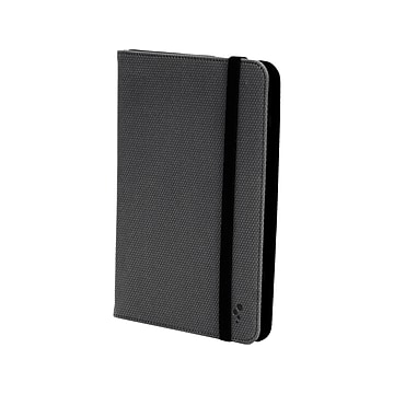 "M-Edge U7-FP-MF-B Folio Plus Faux Leather Case for 7"" Tablets, Black"