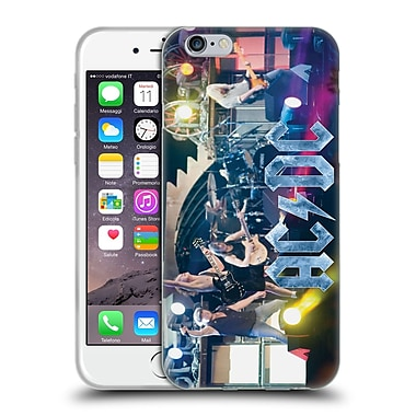 Official Ac/Dc Acdc Group Photo Concert Performance Soft Gel Case For Apple Iphone 6 / 6S