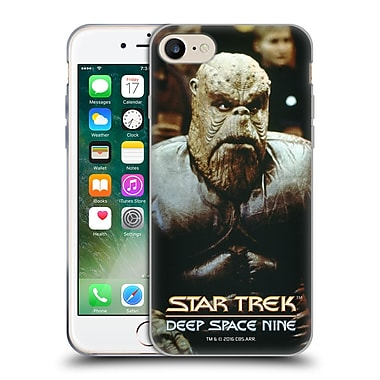 Official Star Trek Iconic Aliens Ds9 Morn Soft Gel Case For Apple Iphone 7