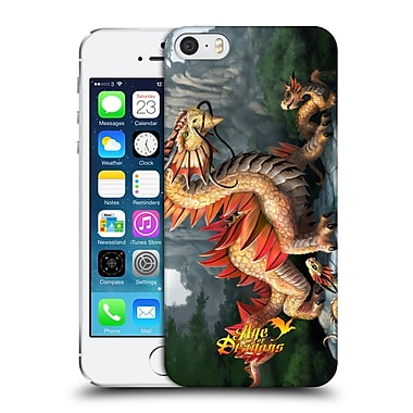 Official Anne Stokes Age Of Dragons Eastern Hard Back Case For Apple Iphone 5 / 5S / Se