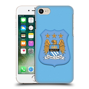 Official Manchester City Man City Fc Crest Kit Home Kit Hard Back Case For Apple Iphone 7