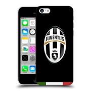 Official Juventus Football Club Crest Italia Black Hard Back Case For Apple Iphone 5C