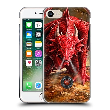 Official Anne Stokes Dragons Lair Soft Gel Case For Apple Iphone 7